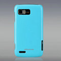 Nillkin Colorful Hard Cases Skin Covers for Motorola ME865 - Blue