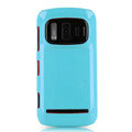 Nillkin Colorful Hard Cases Skin Covers for Nokia 808 Pureview - Blue