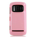 Nillkin Colorful Hard Cases Skin Covers for Nokia 808 Pureview - Pink