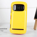 Nillkin Colorful Hard Cases Skin Covers for Nokia 808 Pureview - Yellow