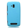 Nillkin Colorful Hard Cases Skin Covers for Nokia Lumia 610 - Blue