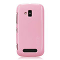 Nillkin Colorful Hard Cases Skin Covers for Nokia Lumia 610 - Pink
