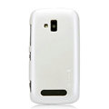 Nillkin Colorful Hard Cases Skin Covers for Nokia Lumia 610 - White