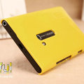 Nillkin Colorful Hard Cases Skin Covers for Nokia Lumia 900 Hydra - Yellow