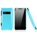 Nillkin Colorful Hard Cases Skin Covers for Nokia X7 X7-00 - Blue