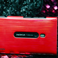Nillkin Dynamic Color Hard Cases Skin Covers for Nokia Lumia 800 800c - Red