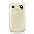 Nillkin Mood Hard Cases Skin Covers for Lenovo A500 - White