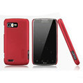 Nillkin Super Matte Hard Cases Skin Covers for Motorola ME865 - Red