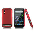 Nillkin Super Matte Hard Cases Skin Covers for Motorola Photon 4G MB855 - Red