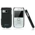 Nillkin Super Matte Hard Cases Skin Covers for Nokia E6 - Black
