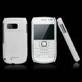 Nillkin Super Matte Hard Cases Skin Covers for Nokia E6 - White