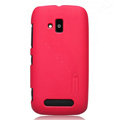 Nillkin Super Matte Hard Cases Skin Covers for Nokia Lumia 610 - Red