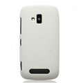 Nillkin Super Matte Hard Cases Skin Covers for Nokia Lumia 610 - White
