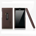 Nillkin Super Matte Hard Cases Skin Covers for Nokia N9 - Brown