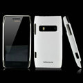 Nillkin Super Matte Hard Cases Skin Covers for Nokia X7 X7-00 - White