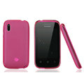 Nillkin Super Matte Rainbow Cases Skin Covers for Lenovo A390e - Pink