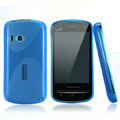 Nillkin Super Matte Rainbow Cases Skin Covers for Lenovo A60 - Blue