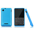 Nillkin Super Matte Rainbow Cases Skin Covers for Motorola EX226 - Blue