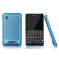 Nillkin Super Matte Rainbow Cases Skin Covers for Motorola EX226 - Sky Blue