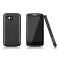 Nillkin Super Matte Rainbow Cases Skin Covers for Motorola ME865 - Black