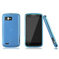 Nillkin Super Matte Rainbow Cases Skin Covers for Motorola ME865 - Blue