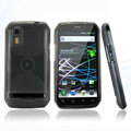 Nillkin Super Matte Rainbow Cases Skin Covers for Motorola Photon 4G MB855 - Black