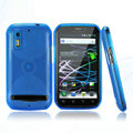 Nillkin Super Matte Rainbow Cases Skin Covers for Motorola Photon 4G MB855 - Blue