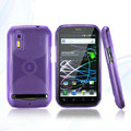 Nillkin Super Matte Rainbow Cases Skin Covers for Motorola Photon 4G MB855 - Purple
