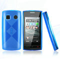 Nillkin Super Matte Rainbow Cases Skin Covers for Nokia 500 - Blue