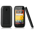 Nillkin Super Matte Rainbow Cases Skin Covers for Nokia 603 - Black