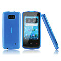 Nillkin Super Matte Rainbow Cases Skin Covers for Nokia 700 - Blue