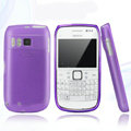 Nillkin Super Matte Rainbow Cases Skin Covers for Nokia E6 - Purple