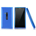 Nillkin Super Matte Rainbow Cases Skin Covers for Nokia N9 - Blue