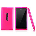 Nillkin Super Matte Rainbow Cases Skin Covers for Nokia N9 - Pink