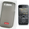Nillkin Transparent Matte Soft Cases Covers for Nokia E72 - Black