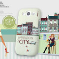 Nillkin Unique Hard Cases Skin Covers for Samsung Galaxy SIII S3 I9300 I9308 I939 I535 - Beige