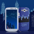 Nillkin Unique Hard Cases Skin Covers for Samsung Galaxy SIII S3 I9300 I9308 I939 I535 - Blue