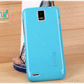 Nillkin Colorful Hard Cases Skin Covers for Huawei U9500 Ascend D1 - Blue