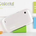 Nillkin Colorful Hard Cases Skin Covers for Lenovo LePhone A580 S850e - White