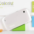 Nillkin Colorful Hard Cases Skin Covers for Lenovo LePhone S680 - White