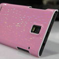 Nillkin Dynamic Color Hard Cases Skin Covers for Huawei U9200 Ascend P1 - Pink