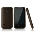 Nillkin Super Matte Hard Cases Skin Covers for Huawei C8650 M865 - Brown
