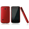 Nillkin Super Matte Hard Cases Skin Covers for Huawei C8650 M865 - Red