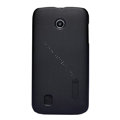 Nillkin Super Matte Hard Cases Skin Covers for Huawei T8830 Ascend G309T - Black