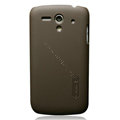 Nillkin Super Matte Hard Cases Skin Covers for Huawei U8818 Ascend G300 - Brown