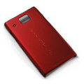 Nillkin Super Matte Hard Cases Skin Covers for Huawei U9000 Ideos X6 - Red