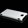 Nillkin Super Matte Hard Cases Skin Covers for Huawei U9000 Ideos X6 - White