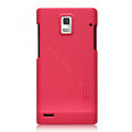 Nillkin Super Matte Hard Cases Skin Covers for Huawei U9200 Ascend P1 - Rose