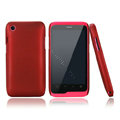 Nillkin Super Matte Hard Cases Skin Covers for K-touch W700 - Red