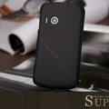 Nillkin Super Matte Hard Cases Skin Covers for Lenovo A65 - Black